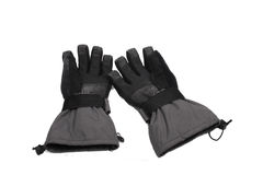 Pair of snowboard gloves Stock Images