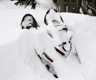 Pair of Snowshoes Stock Photography