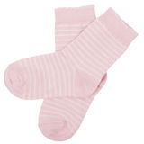 Pair of socks. Isolated on white. Clipping paths included. Stock Photo