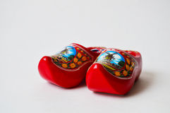 A pair of souvenir clogs from Holland Royalty Free Stock Photography