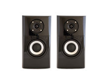 A pair of speakers Royalty Free Stock Photography