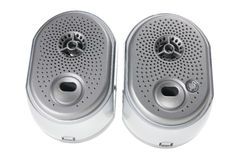 A Pair of speakers Royalty Free Stock Photo