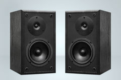 Pair of speakers Stock Photography