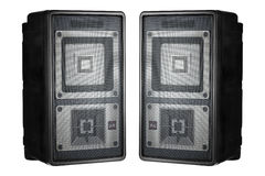 Pair of speakers Royalty Free Stock Photo