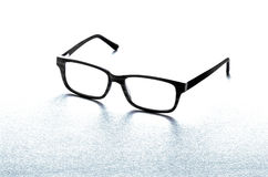 Pair of spectacles or eyeglasses on white Royalty Free Stock Photography