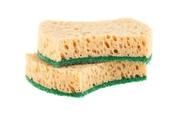 Pair of sponges Royalty Free Stock Photos