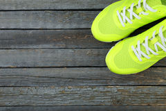 Pair of sport shoes Royalty Free Stock Images