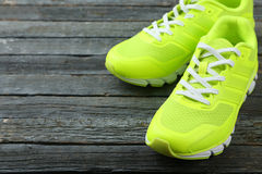 Pair of sport shoes Royalty Free Stock Photos