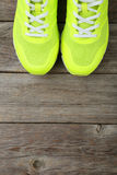Pair of sport shoes Stock Photos