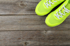 Pair of sport shoes Stock Photography