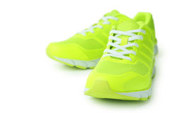 Pair of sport shoes Royalty Free Stock Photography