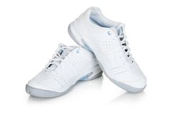 Pair of sport shoes Stock Image