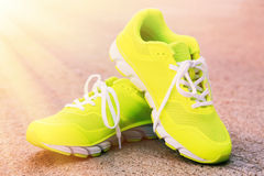 Pair of sport shoes Royalty Free Stock Photo