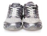 Pair of sports shoes Stock Photos