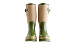 Pair of stylish ladies gardening boots Stock Images