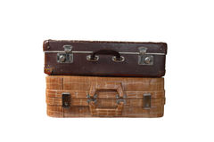 Pair of suitcases Royalty Free Stock Image