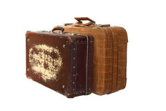 Pair of suitcases Stock Images