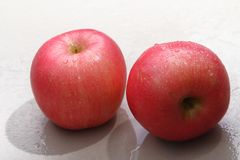 Pink Lady apples royalty free stock photography
