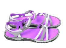 Pair of summer sandals Stock Image