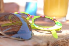Pair of sunglasses Stock Image