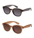 Pair of sunglasses in different colors Stock Photo