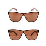 Pair of sunglasses isolated Royalty Free Stock Photo