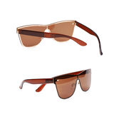 Pair of sunglasses isolated Royalty Free Stock Image