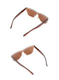 Pair of sunglasses isolated Royalty Free Stock Photos