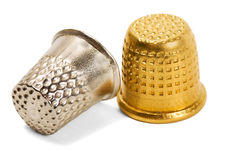 Pair thimble Royalty Free Stock Photo
