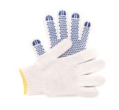 Pair of thin working gloves. Royalty Free Stock Photo