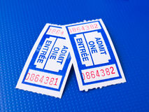 Pair of tickets Royalty Free Stock Photo