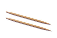 Pair of Toothpicks Royalty Free Stock Images