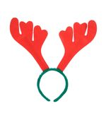 Pair of toy reindeer horns. Royalty Free Stock Photo