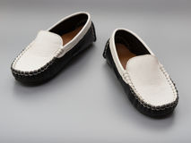 Pair of trendy shoes for kids Stock Images