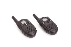 Pair of UHF handsets Royalty Free Stock Photography