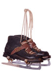 Pair of very old skates Royalty Free Stock Photo