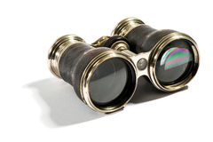 Pair of vintage opera glasses Royalty Free Stock Photography