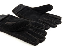 A pair warm gloves. Isolated Stock Photography