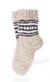 Pair of Warm Winter Socks Royalty Free Stock Image