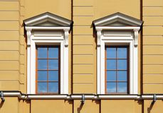 Pair Windows Royalty Free Stock Image