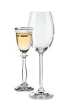 Pair of wine glasses Royalty Free Stock Photo