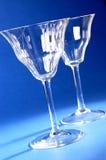 Pair of wine glasses Stock Image