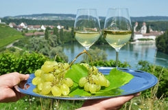 Pair of wineglasses Royalty Free Stock Image