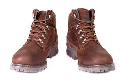 Pair of  winter boots Royalty Free Stock Images