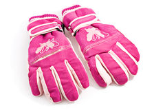 Pair of winter gloves Stock Images