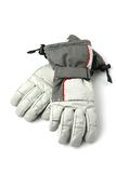 Pair of winter ski gloves. Stock Images