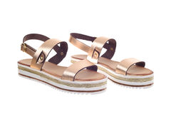 Pair of woman sandals Stock Photography