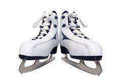 A pair of women's skates Royalty Free Stock Images