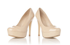 Pair of Women shoes Stock Image