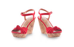Pair of women shoes Stock Photography